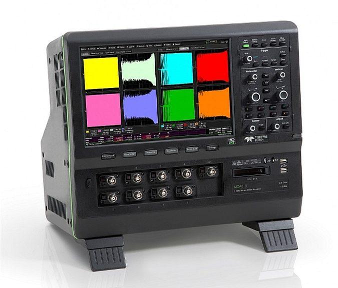 Analyseur de commande moteur MDA8000 de Teledyne Lecroy.