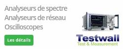 TestWall, fournisseur d'instruments de test et mesure électroniques d'occasion