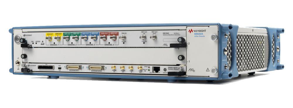 Générateur AXIe de signaux arbitraires M8196A de Keysight