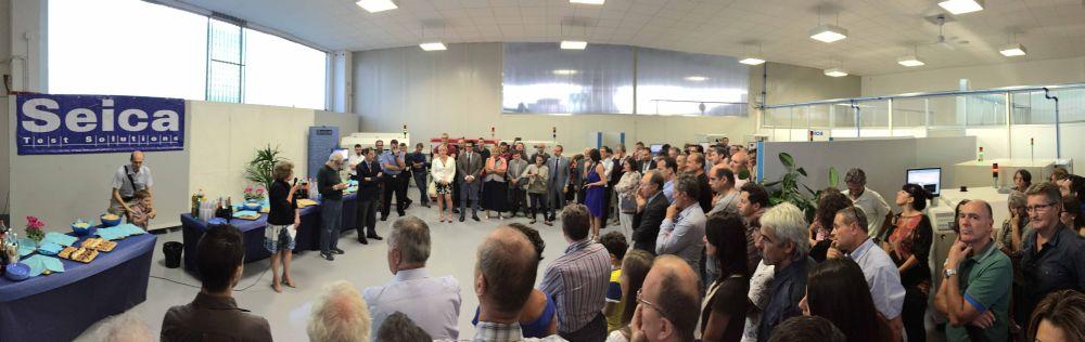Inauguration locaux Seica septembre 2015