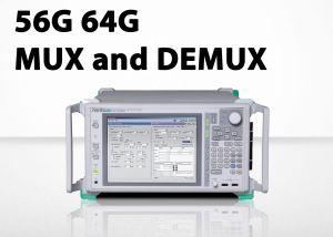 modules MP1861A MUX et MP1862A DEMUX d'Anritsu