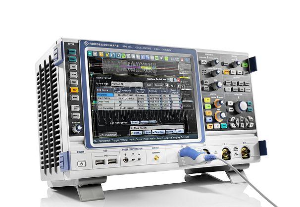 oscilloscopes R&S RTO et R&S RTE de Rohde & Schwarz