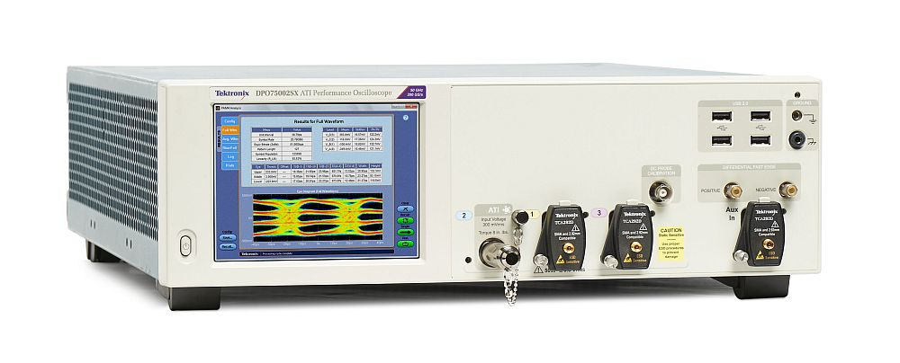 oscilloscope DPO70000SX de Tektronix