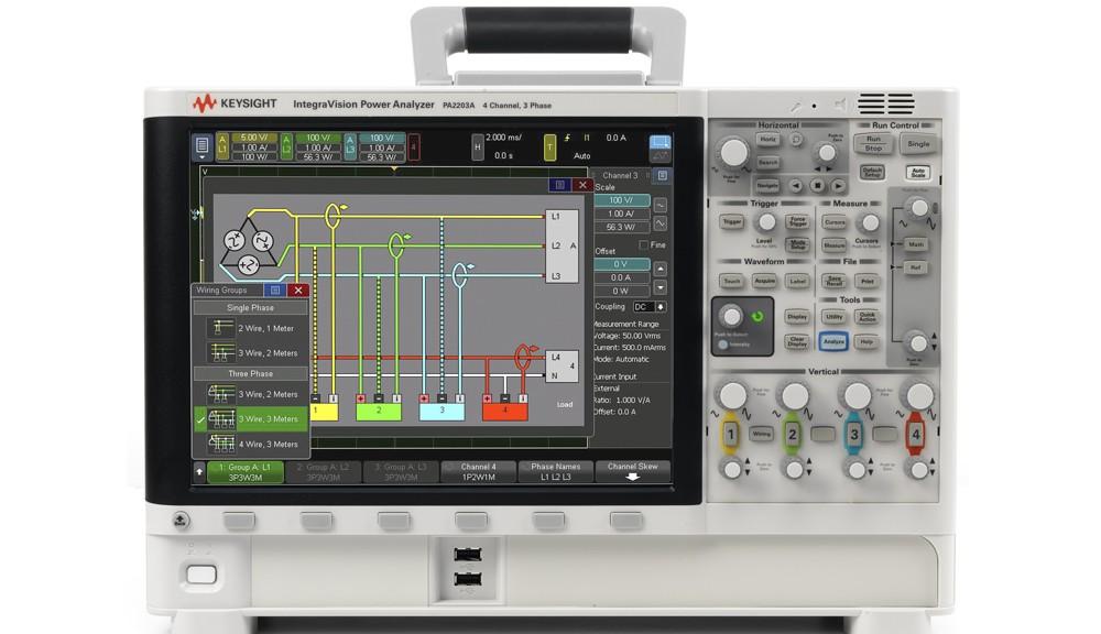 Analyseur de puissance triphasée IntegraVision PA2203A de Keysight