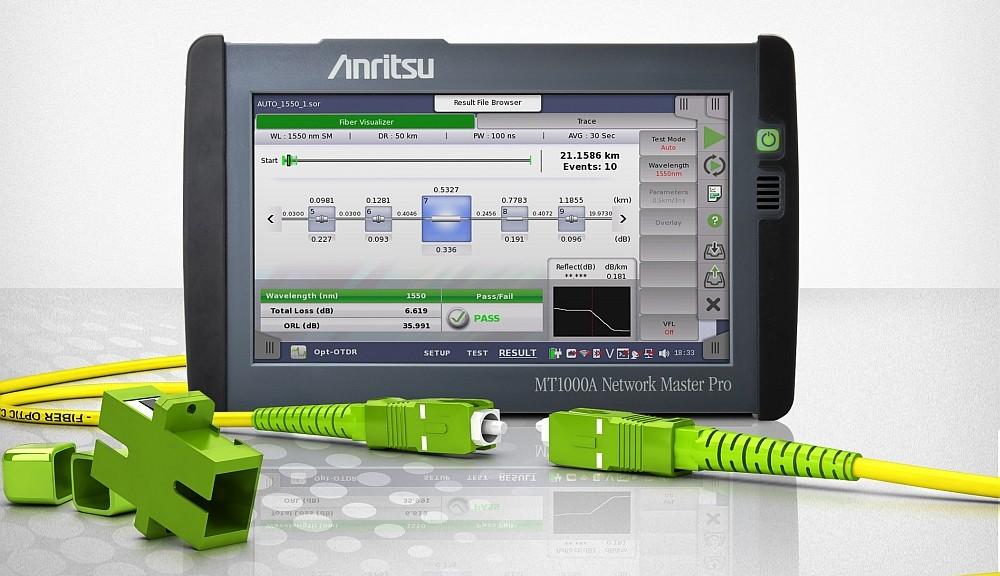 Analyseur Anritsu MT1000A OTDR
