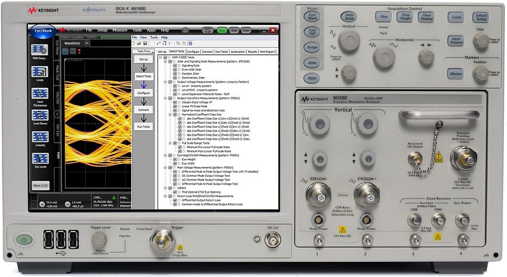 Keysight analyse PAM4 pour oscilloscopes