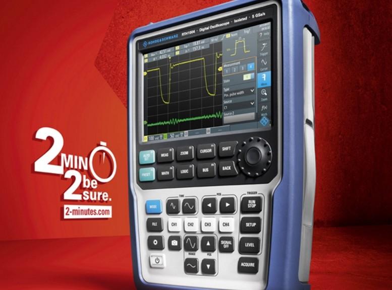 Oscilloscope portable Rohde&Schwarz Scope Rider