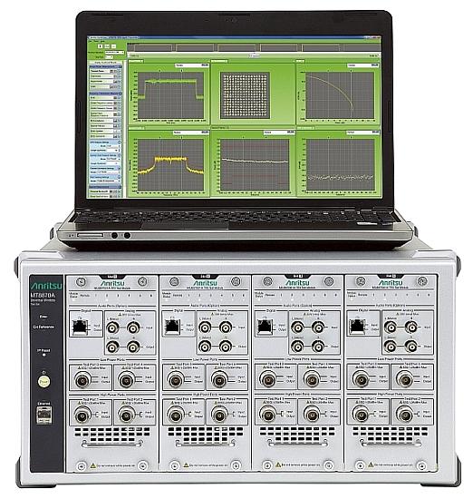 Testeur de communication sans fil universel MT8870A d'Anritsu