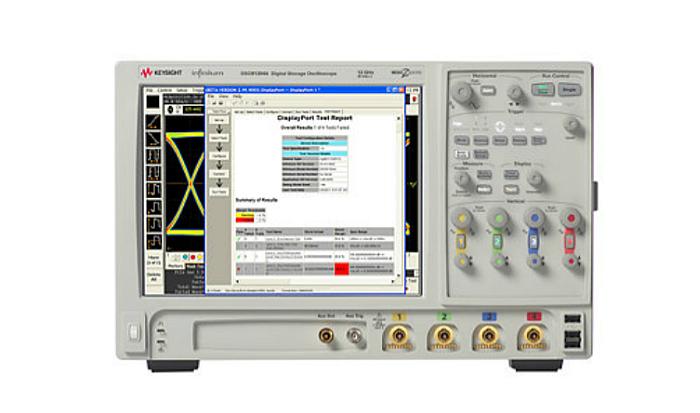 Keysight solution de test Display Port 1.3