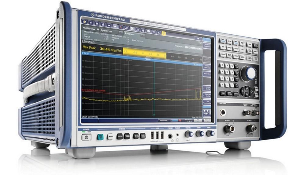 Récepteur de mesures CEM R&S ESW de Rohde&Schwarz