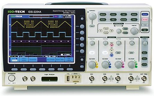 Oscilloscope ISO-TECH IDS-2204A