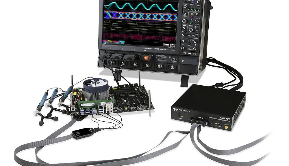 Analyseur numérique HDA125 et système de sondes QuickLink de Teledyne Lecroy