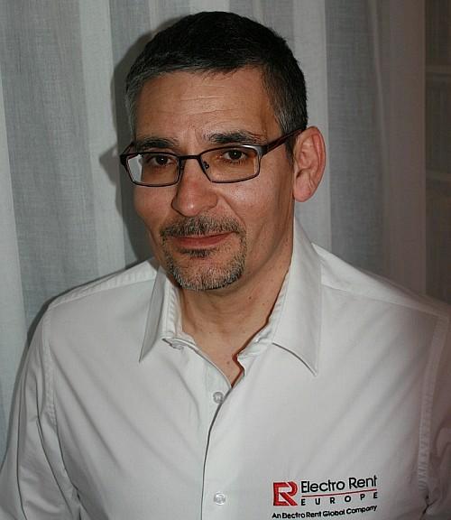 Eric Duran Palacio directeur des ventes Electro Rent