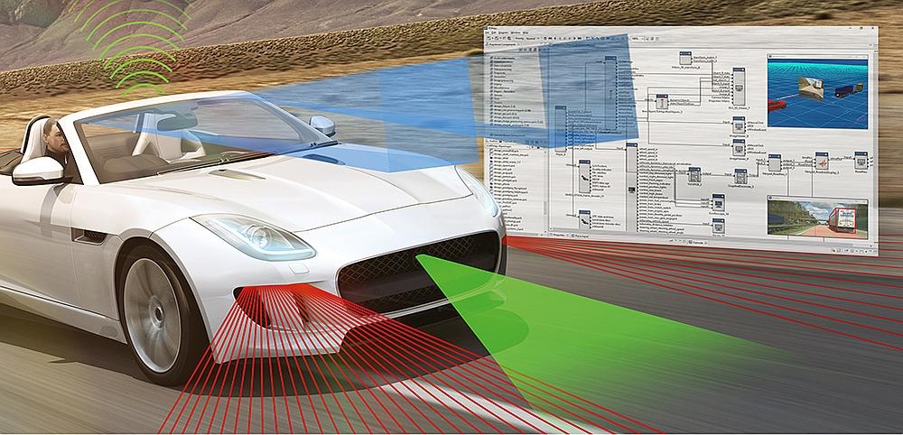 logiciel pour test automobile RTMaps d'Intempora