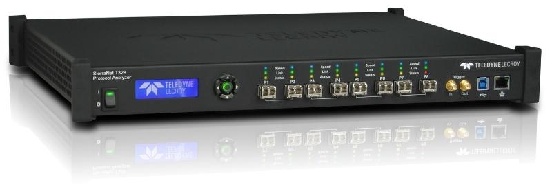 Analyseur protocole 100GEthernet et Fiber channel SierraNet T328 Teledyne LeCroy