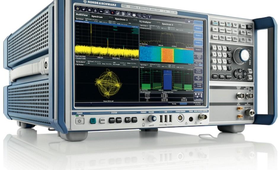 Analyseur de signaux et spectre R&S FSW