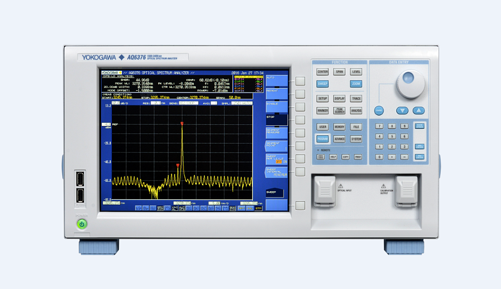 Yokogawa analyseur spectre optique AQ6376