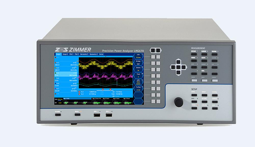 Analyseur de puissance Zes Zimmer LMG670
