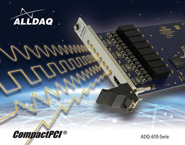 Carte acquisition ALLDAQ ADQ-610