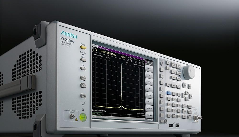 Analyseur de spectre et signaux Anritsu MS2840A