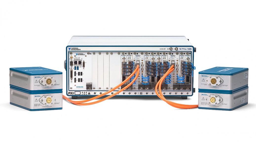 Radio logiciel NI mmWave Transceiver System