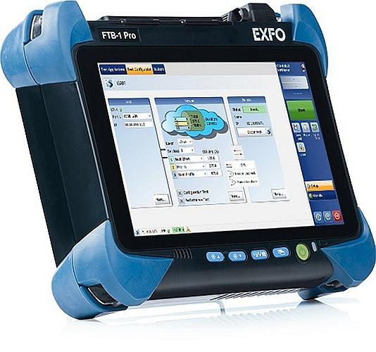 Testeur portable de réseau NetBlazer v2 d'Exfo
