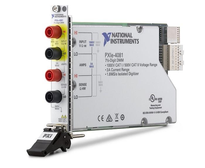 Multimètre NI PXIe-4081