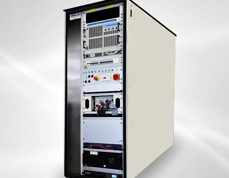 banc test des modules PEC de la Renault Zoe conçu par Arelis