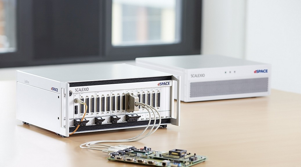 Unité de Test HIL de table SCALEXIO LabBox dSPACE