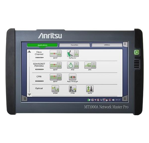 Testeur portable Network Master Pro MT1000A d'Anritsu