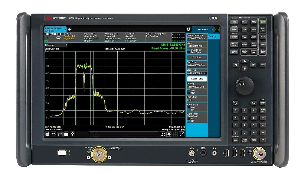 Analyseur de signaux N9041B UXA X-Series de Keysight