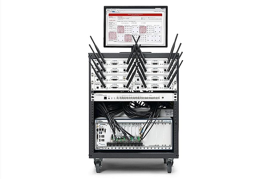 framework d'application Massive MIMO pour communication 5G de NI