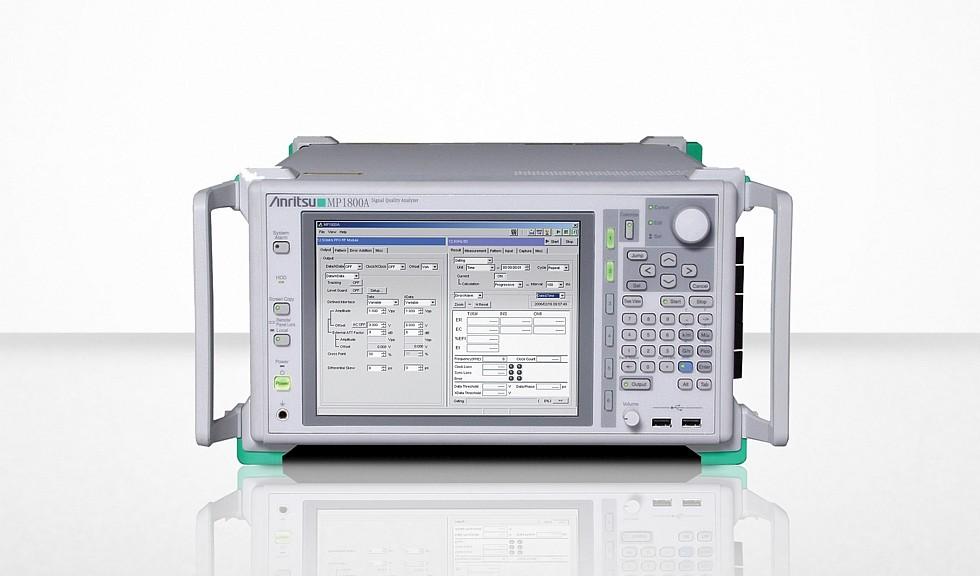 Analyseur de qualité du signal MP1800A d'Anristu