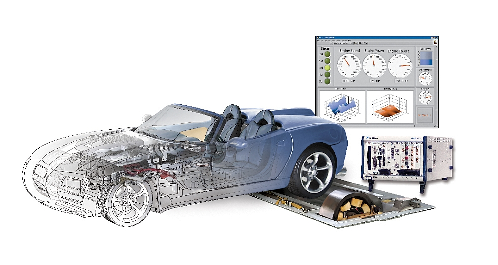 Solutions de test automobile de National Instruments