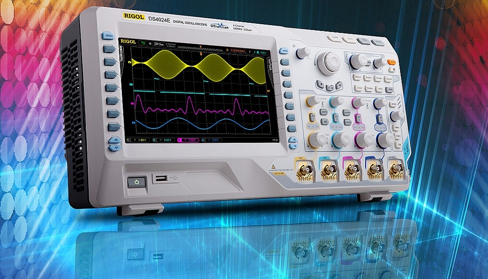 Oscilloscopes DS4000E de Rigol