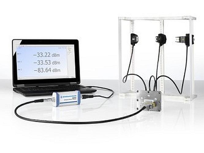 Solution de mesure de puissance R&S NRPM OTA de Rohde & Schwarz