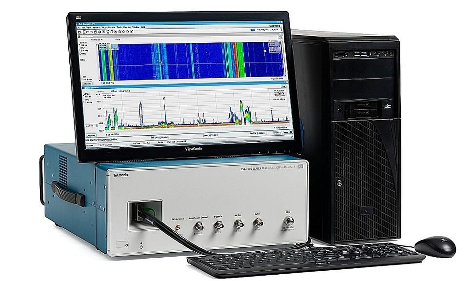 Analyseur de signaux large bande RSA7100A de Tektronix