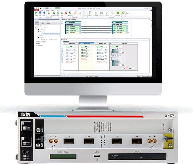 Solutions test, visualisation et sécurité réseaux d'Ixia