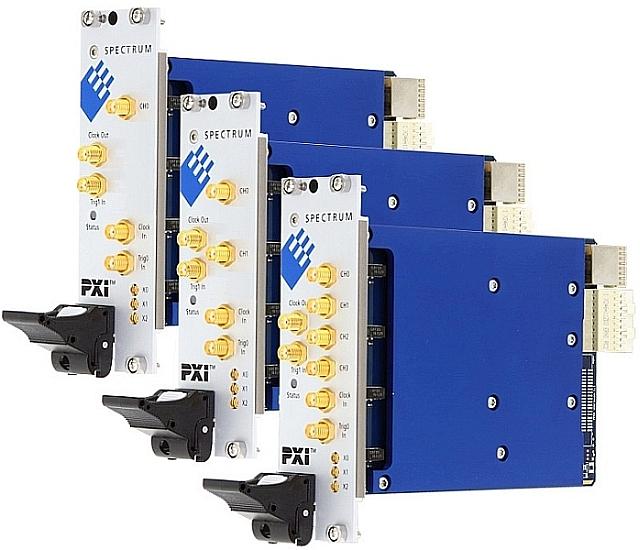 Numériseurs PXI M4x.22xx de Spectrum