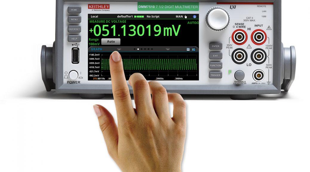 Multimètre graphique Keithley DMM7510 de Tektronix