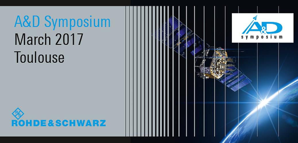 Rohde & Schwarz Symposium A&D, test satellite, mars 2017