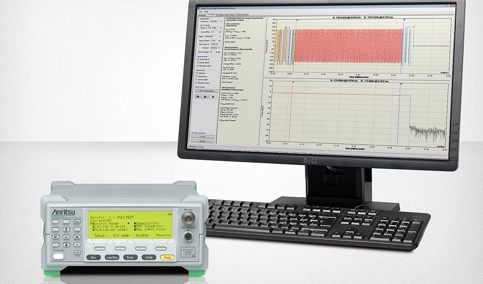 Testeur Bluetooth MT8852B d'Anritsu
