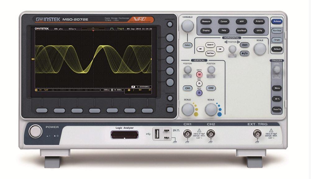 Oscilloscopes MSO-2000 de GW Instek
