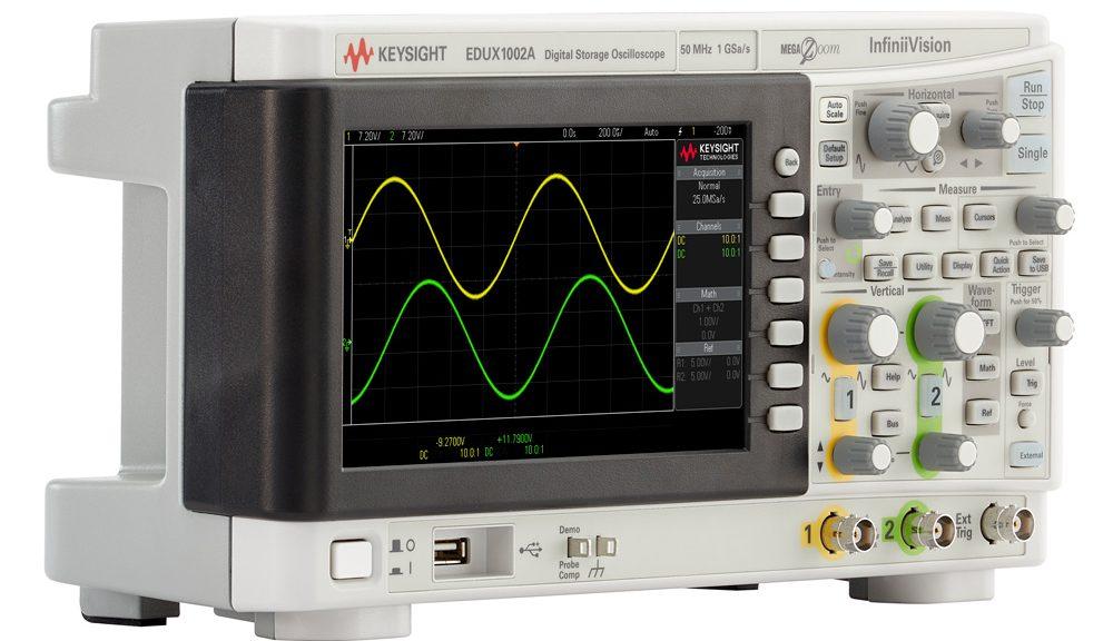 Oscilloscope de la gamme InfiniiVision 1000 X-Series de Keysight
