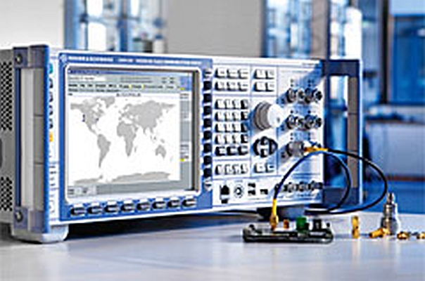 Solution de test de communications sans fil Rohde & Schwarz CMW
