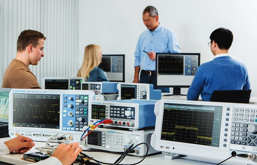 Gamme Value Instruments de Rohde & Schwarz : oscillocopes, analyseurs de spectre, alimentations