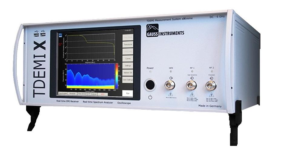 Récepteur CEM TDEMI X de Gauss Instruments