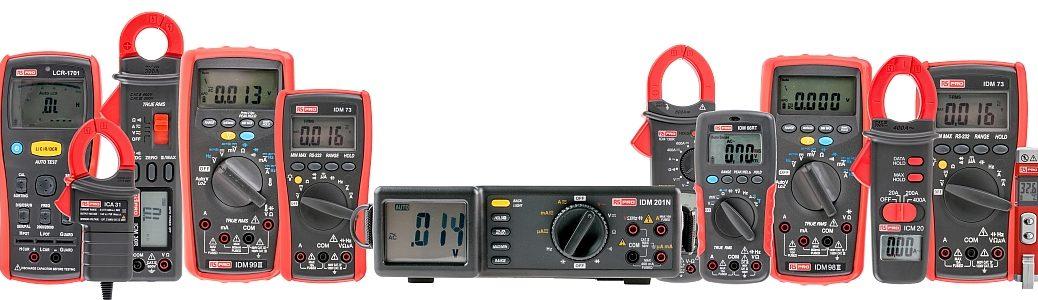 Gamme d'intruments de test et mesure RS Pro