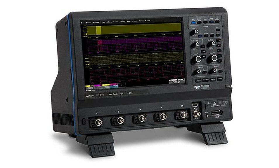 Oscilloscope WaveSurfer 510 de Teledyne Lecroy