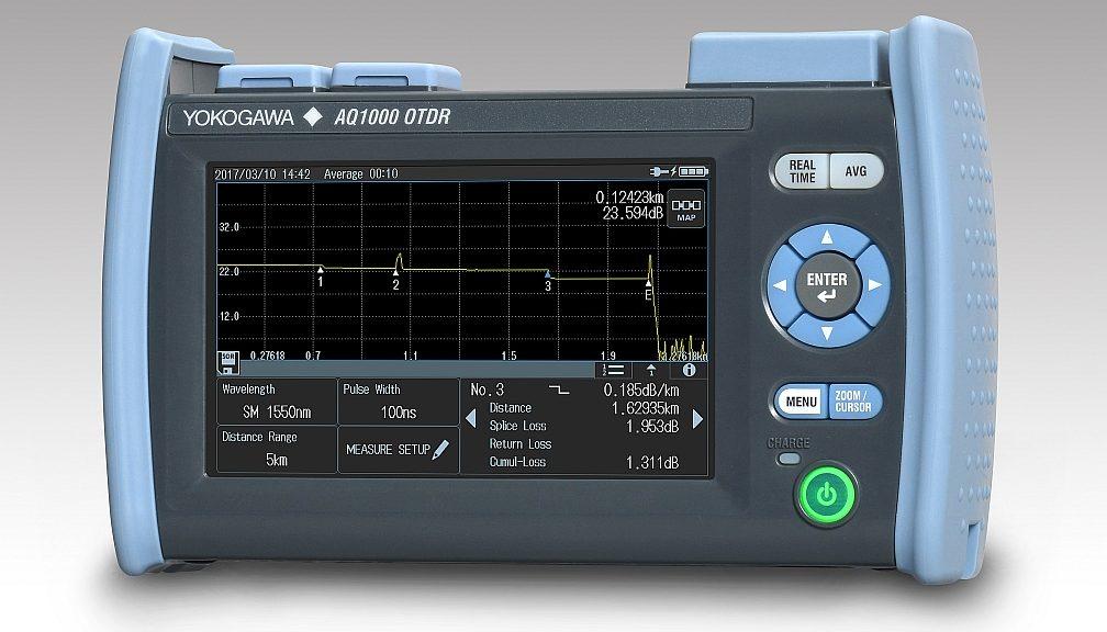 Réflectomètre optique portable AQ1000 de Yokogawa